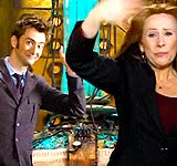 Watch and share Catherine Tate GIFs and David Tennant GIFs on Gfycat