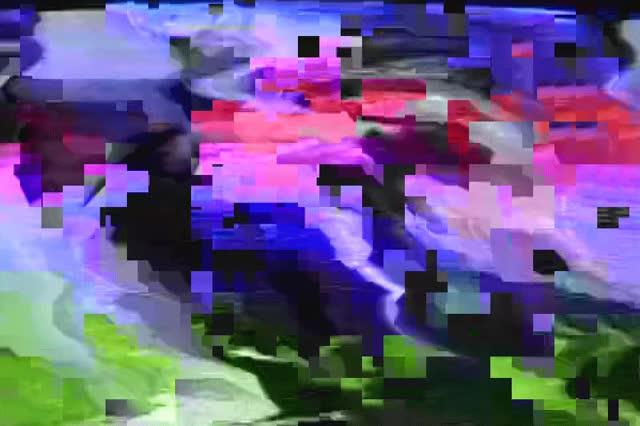 Watch and share Art, Artists On  Glitch, Glitch Art, Scrambled Tv, Big Pixels GIFs on Gfycat