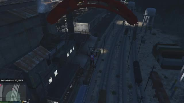 Watch GTAOnline | Parachuting to a Train GIF by Alex Tiff (@tiff92) on Gfycat. Discover more gaming_gifs, gtagifs, gtaonline GIFs on Gfycat