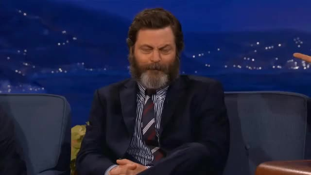 Watch and share Nick Offerman GIFs and Laughing GIFs by acehead619 on Gfycat