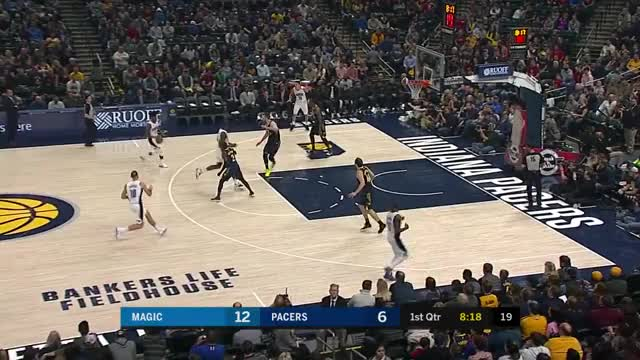 Watch and share Indiana Pacers GIFs and Orlando Magic GIFs on Gfycat