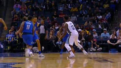 Watch and share Tyreke Evans — Memphis Grizzlies GIFs by Off-Hand on Gfycat