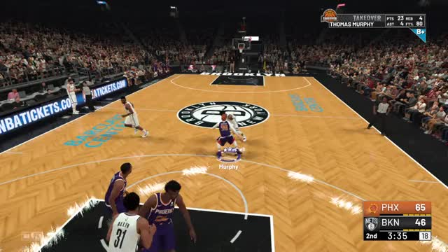 Watch and share Brooklyn Nets GIFs and Phoenix Suns GIFs by Thomas  on Gfycat