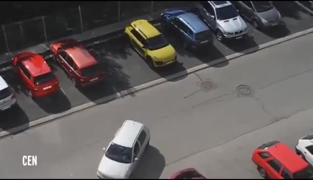 Watch and share Blonde Woman Stars In World's Worst Car Parking Fail That's Almost Too Painful To Watch GIFs on Gfycat