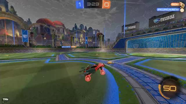 Watch and share TeamGoal #Rocket League | Captured By #Overwolf GIFs on Gfycat