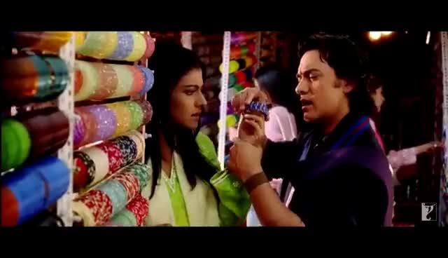 Watch and share Chand Sifarish - Full Song | Fanaa | Aamir Khan | Kajol GIFs on Gfycat
