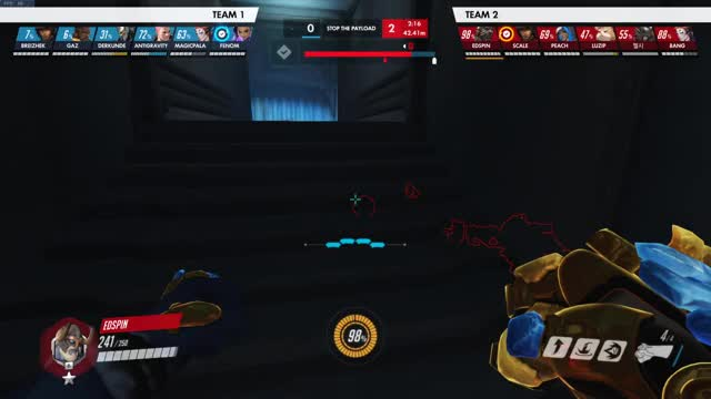 Watch and share Overwatch GIFs by edspin on Gfycat