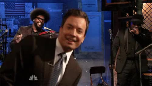 Watch and share Jimmy Fallon GIFs and Questlove GIFs on Gfycat