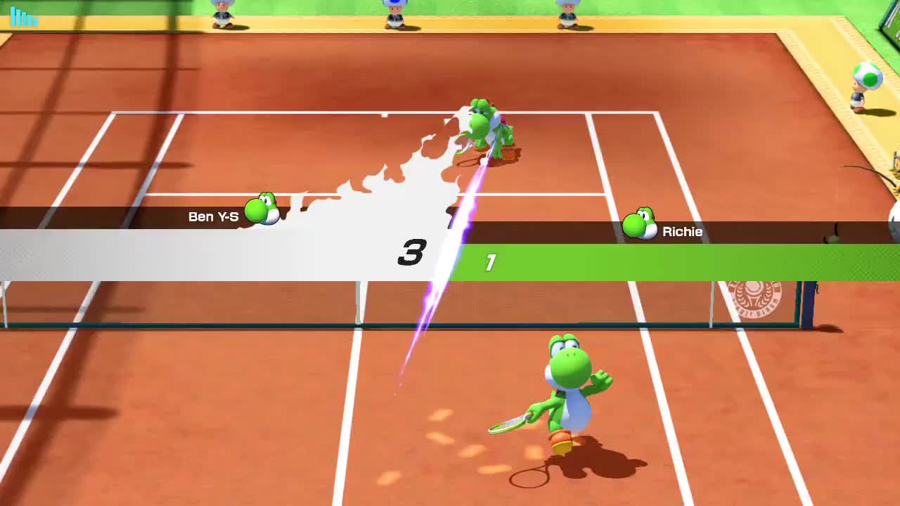 tennis, MarioTennis MarioTennisAces NintendoSwitch GIFs