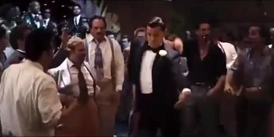 awkward, dance, dancing, funny, hilarious, leo dicaprio, leonardo dicaprio, wtf, Leonardo DiCaprio - Dancing Awkwardly GIFs