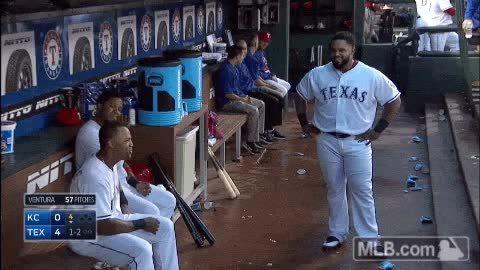 Celebs, TexasRangers, [Grant] Prince Fielder has been officially released (reddit) GIFs