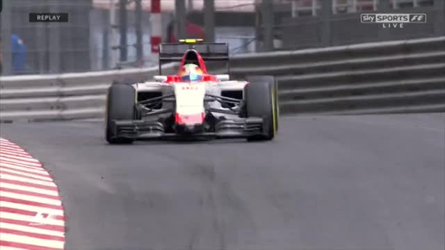 Watch Roberto Merhi FP2 Crash GIF by @schambess on Gfycat. Discover more formula1 GIFs on Gfycat