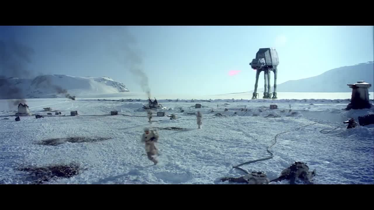 starwarsbattlefront, AT-AT Drivers have bad aim GIFs