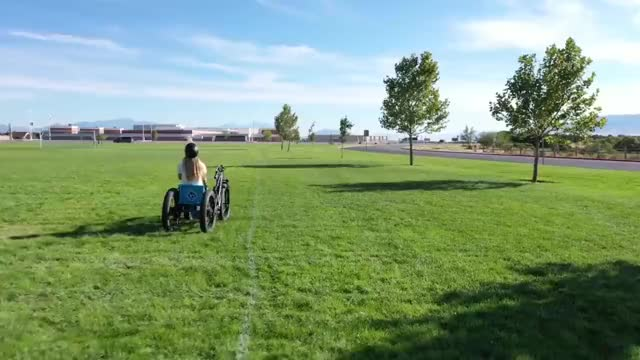 Watch and share This Homemade Off Road Electric Wheelchair GIFs by im_new_gfycat on Gfycat