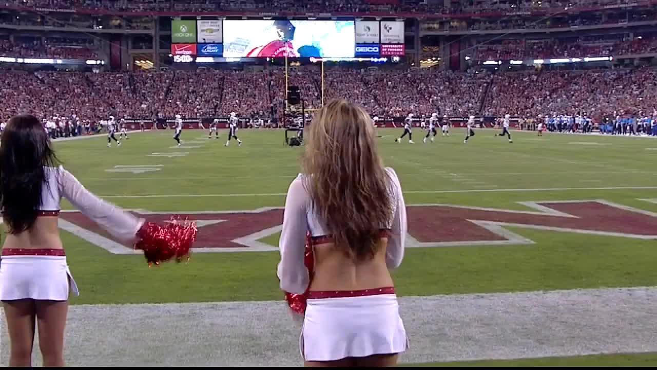 nfl, Arizona Cardinals cheerleader GIFs