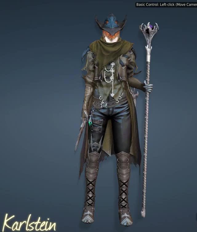 BDO - Sorceress - Bern Costume GIF by (@wioumlol) | Find