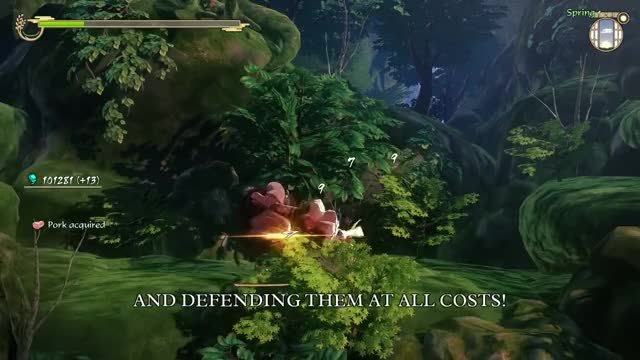 Watch and share Sakuna: Of Rice And Ruin - E3 2017 Trailer GIFs on Gfycat