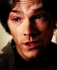Watch this crying GIF by Reactions (@sypher0115) on Gfycat. Discover more Jared Padalecki, cry, crying, tears GIFs on Gfycat