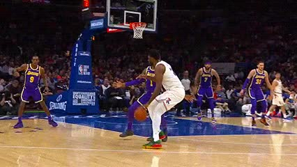 Watch Joel Embiid — Philadelphia 76ers GIF by Off-Hand (@off-hand) on Gfycat. Discover more 021019 GIFs on Gfycat