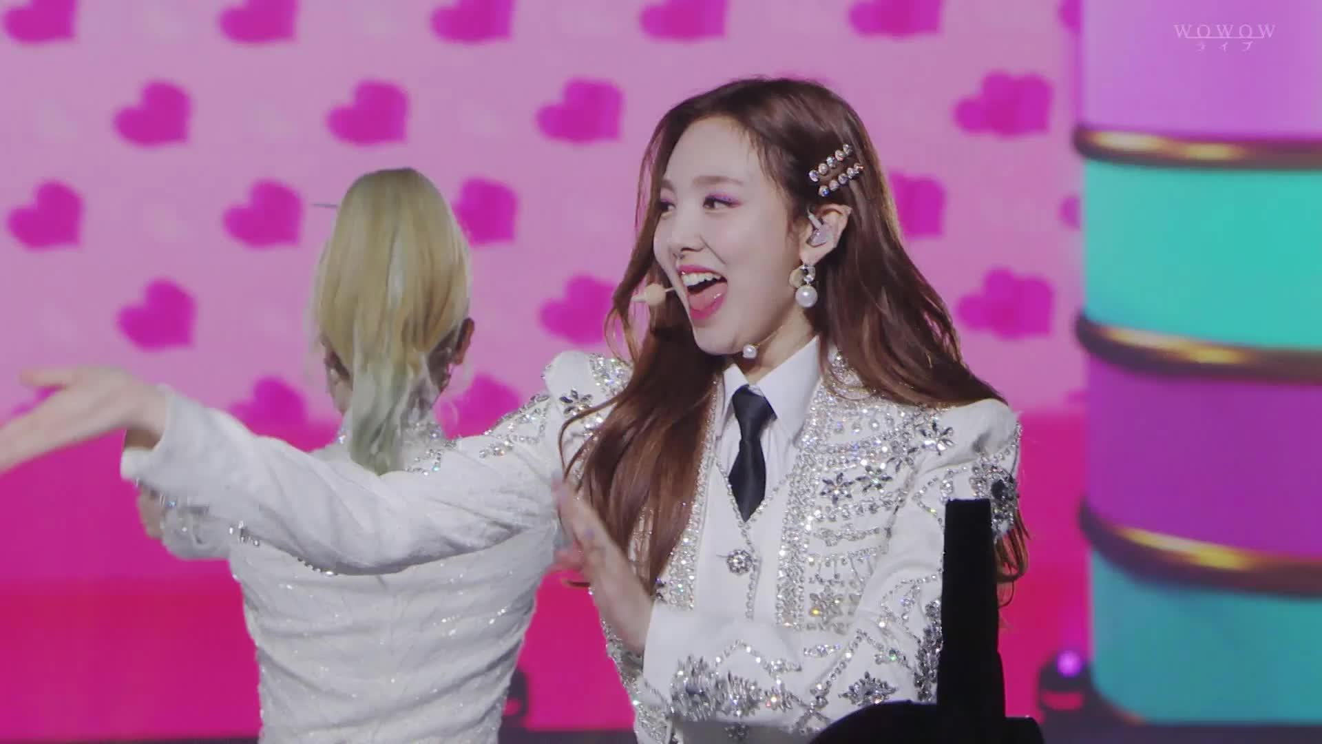 dreamday, Nayeon getting a big hug from Sana and Jeongyeon GIFs