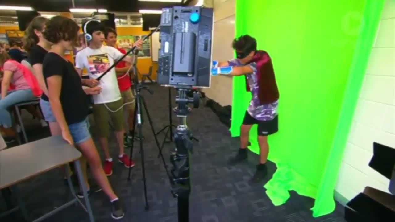 Filmmaking, Greenscreen, Green Screen Super Hero GIF  GIFs