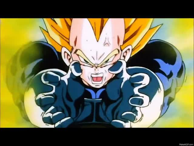 Watch and share Vegeta GIFs on Gfycat