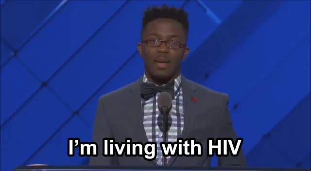 Watch I'm living with HIV DNC 2016 GIF on Gfycat. Discover more DNC2016, demsinphilly GIFs on Gfycat