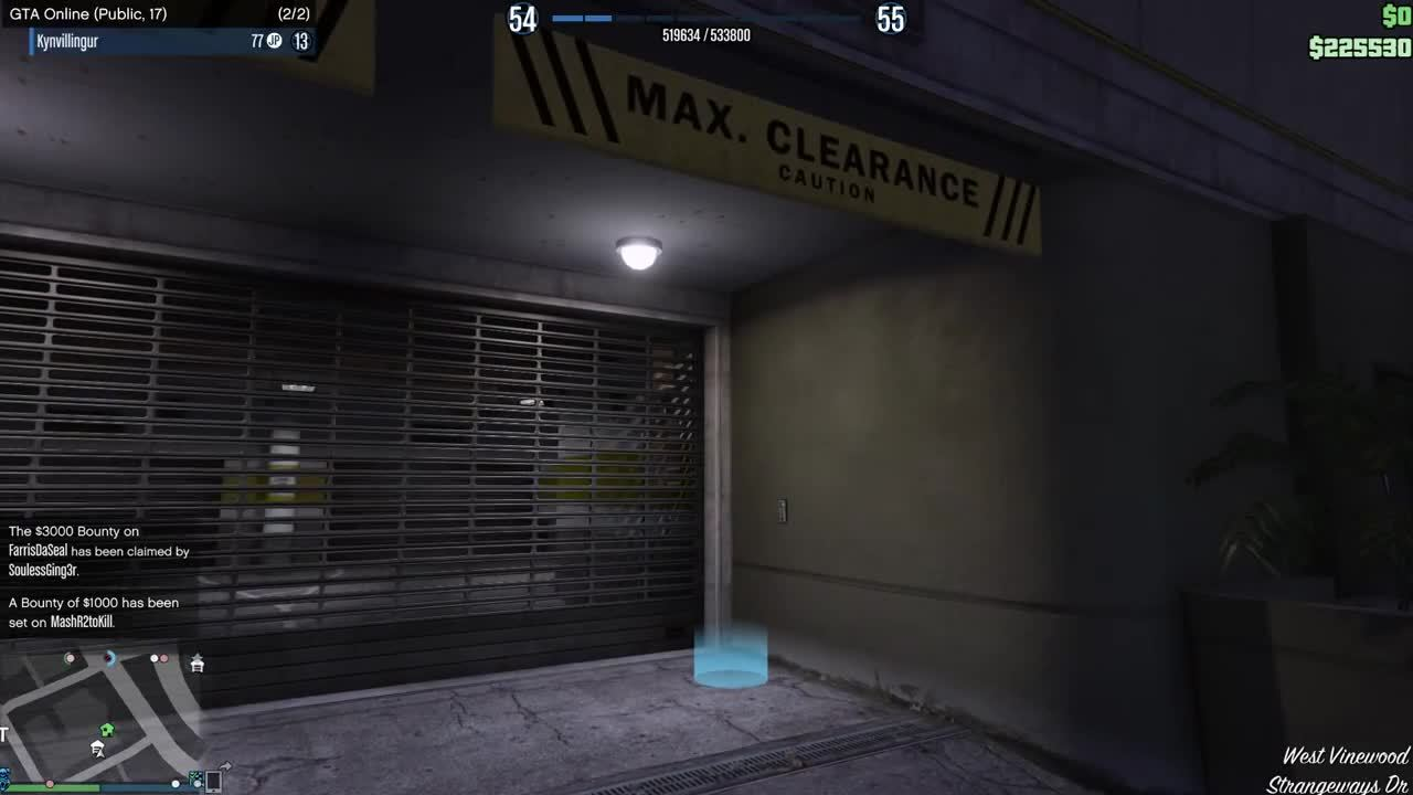 GTA V - Garage Hacker (reddit)