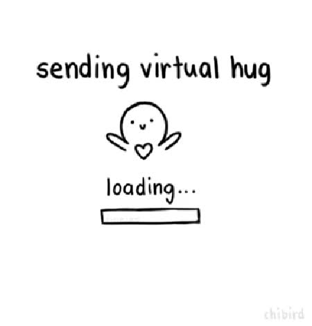 Watch and share Sending Virtual Hug GIFs on Gfycat