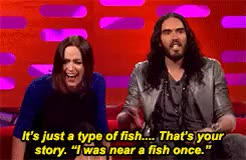 Watch and share Graham Norton Show GIFs and Russell Brand GIFs on Gfycat