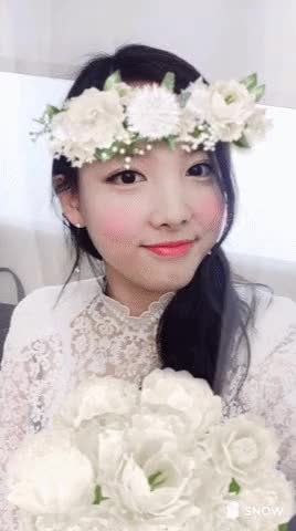 Watch and share Flower Princess Cheer Up Nayeon's Perfect Smile GIFs by Ahrigato on Gfycat