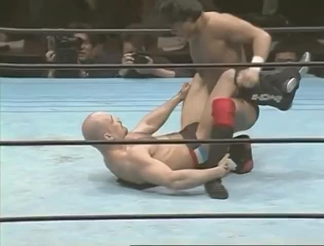 Watch Bas Rutten's Career MMA Fight #12 vs. Takaku Fuke GIF by @flemingo34 on Gfycat. Discover more bas, career, takaku GIFs on Gfycat