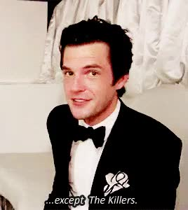 Watch and share Brandon Flowers GIFs and The Killers GIFs on Gfycat