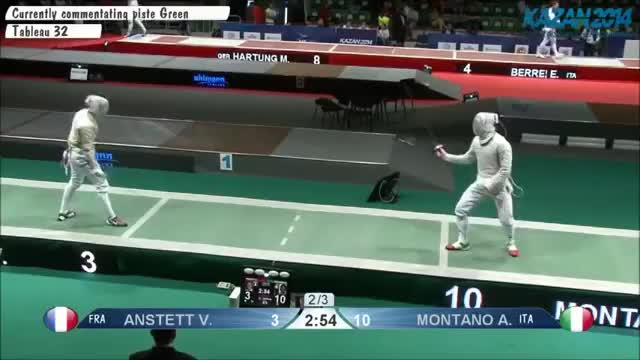 Watch and share Living Dangerously: Montano V Anstett GIFs on Gfycat