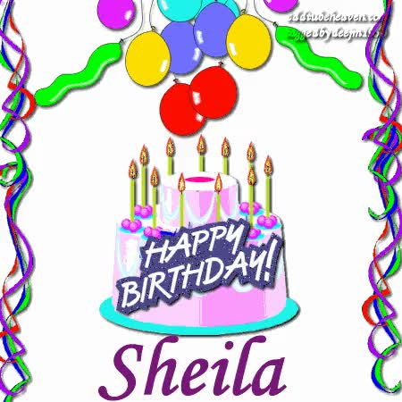 Watch and share HappyBirthday Sheila GIFs on Gfycat