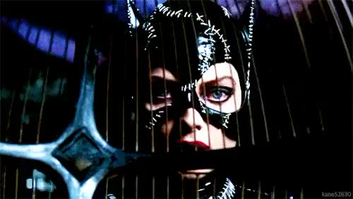 Watch this catwoman GIF on Gfycat. Discover more batman, batman returns, batman returns 1992, burtonverse, catbatmanreturns, catwoman, michelle pfeiffer, selina kyle, tim burton GIFs on Gfycat