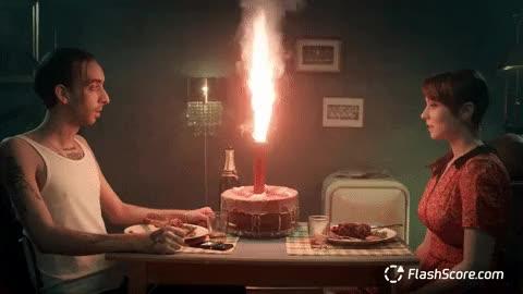 Watch Celebration GIF by FlashScore.com (@flashscore.com) on Gfycat. Discover more birthday, cake, celebration, dinner, love, romance, romantic GIFs on Gfycat