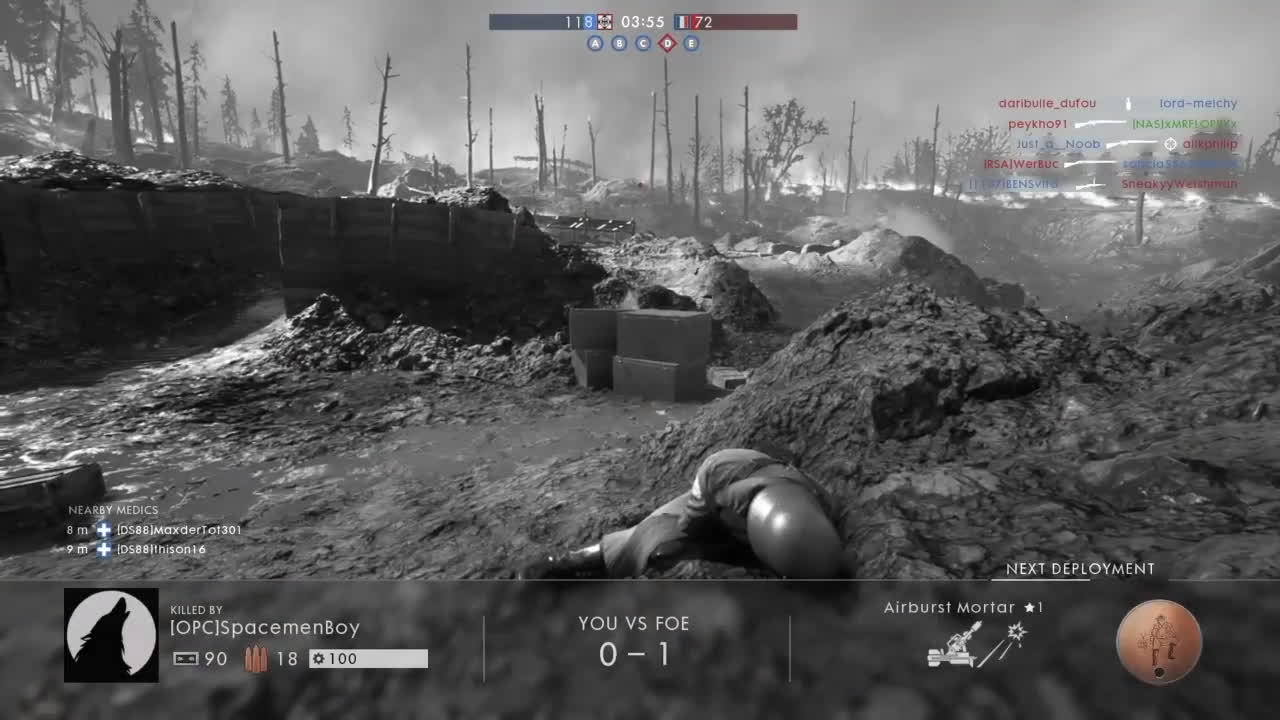bf1, bf1 epic wins and fails, bf1 kills of the week, BF1(PS4):EMBRACE THE CHAOS GIFs