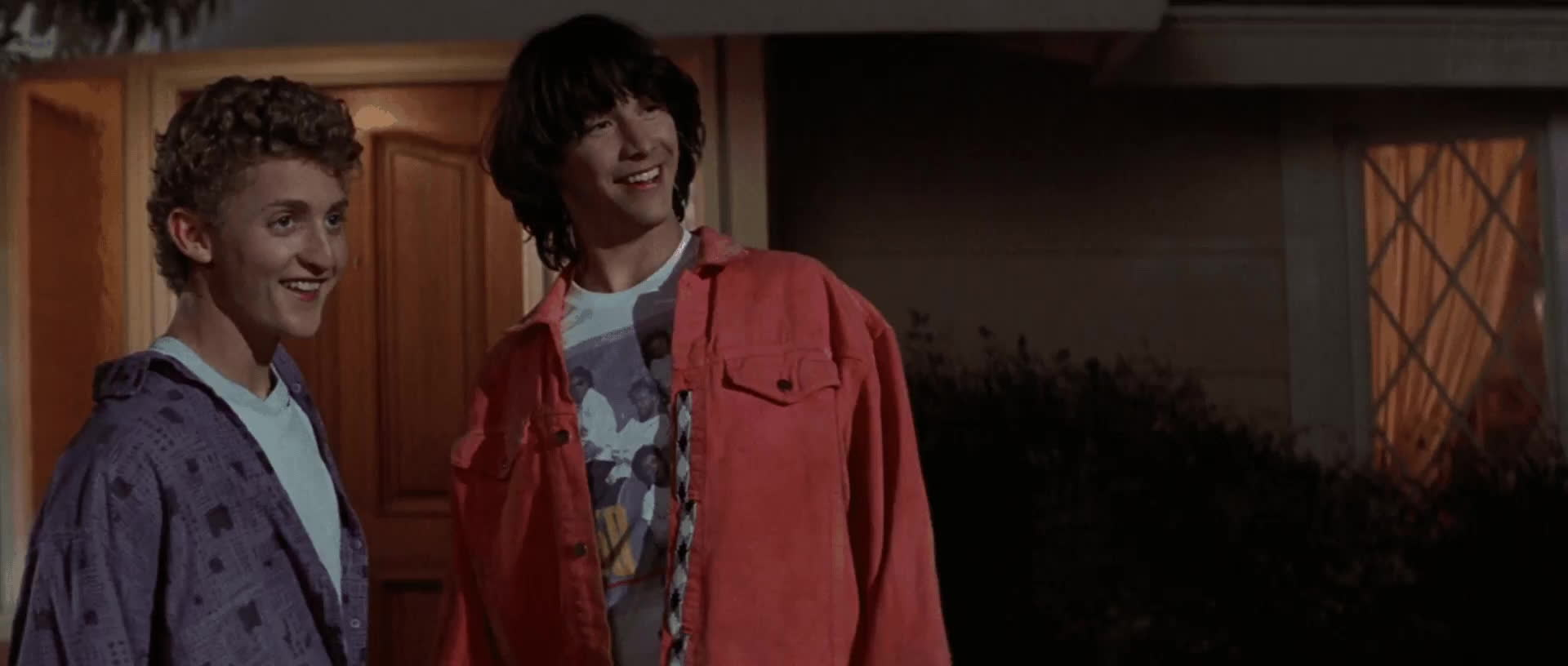 billandtedsexcellentadventure, keanu reeves, keanureeves, nah, naw, no, no way, nope, noway, NO WAY! [Bill & Ted's Excellent Adventure] Keanu Reeves GIFs