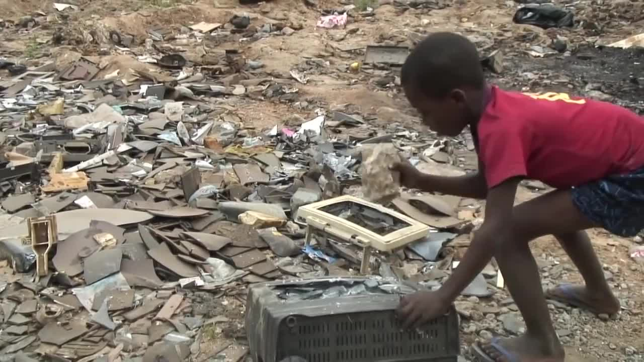 Accra, CC, PUBATTLEGROUNDS, africa, agbogbloshie, computer, e-waste, e-wasteland, ecological, environment, exploitation, ghana, green, i-phone, imac, ipod, pollution, pubg, television, yt, CRT monitors contain on average 8 lbs of lead GIFs