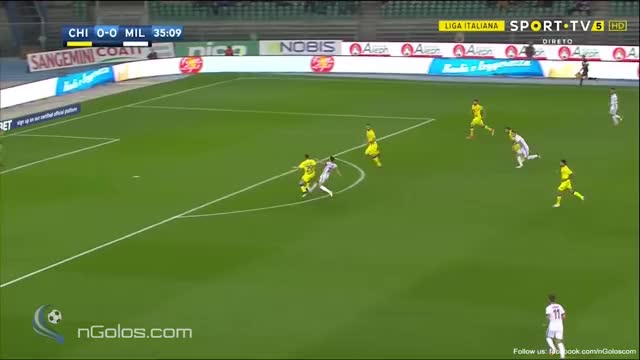 Watch and share (www.nGolos.com) Chievo 0-1 AC Milan - Suso 36' (Great Goal) GIFs on Gfycat