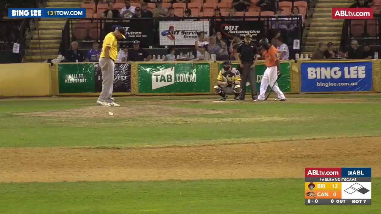 Baseball, Highlights, League, australian, REPLAY: Brisbane Bandits @ Canberra Cavalry, R10/G4 GIFs