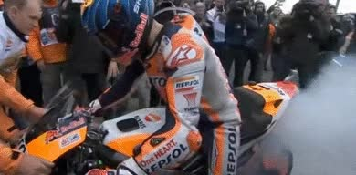 Watch and share Motogp-8 GIFs on Gfycat