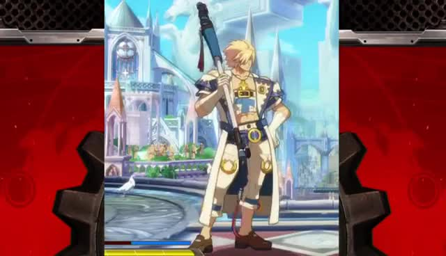 Guilty Gear Xrd -SIGN- idle animation GIFs