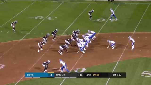 Watch and share Oakland Raiders GIFs and Detroit Lions GIFs by Mansur Shaheen on Gfycat