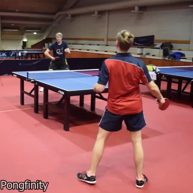 BetterEveryLoop, These ping pong shots are insane. GIFs