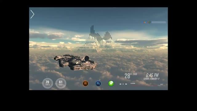 Watch and share Rainmeter GIFs by මලිත් සල්වතුර on Gfycat