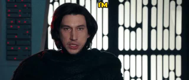 Watch and share Star Wars GIFs and Kylo Ren GIFs by kryptonvol on Gfycat