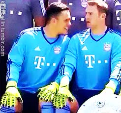 Watch Ivan and Manu (x) GIF on Gfycat. Discover more 245px, bayern, fc bayern, fcbmedit, ivan lucic, ivan lučić, manuel neuer, media day, my gifs GIFs on Gfycat