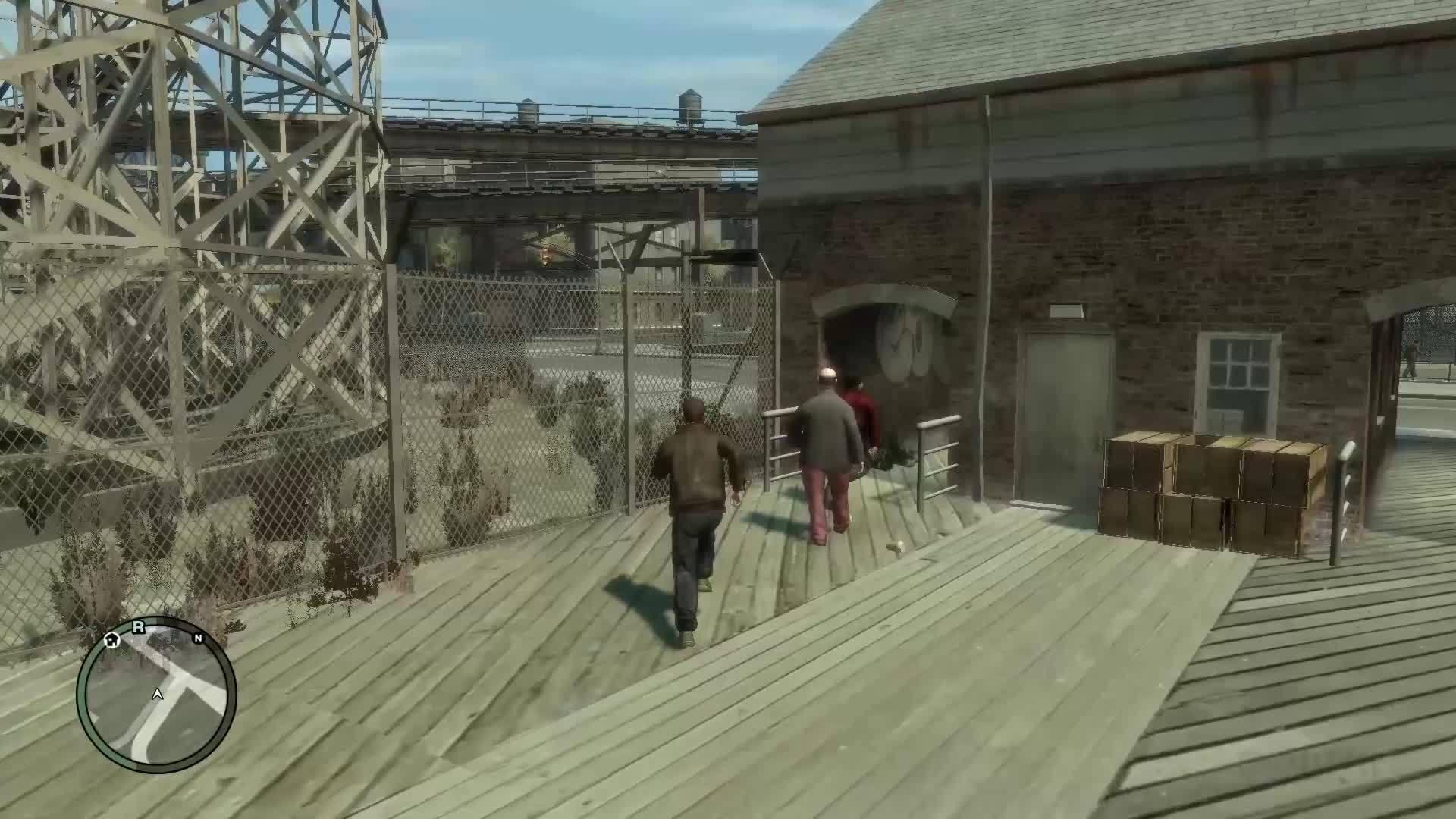 60fpsgaminggifs, [GTA4] Unexpected Smoothness (reddit) GIFs